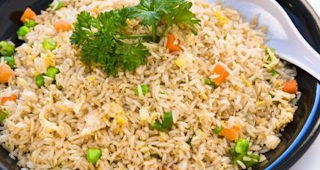 Arroz com legumes light