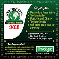 Destination Tourism Night 2018