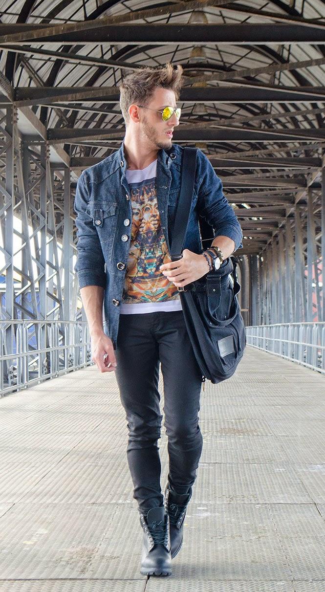 Look da Semana | Jaqueta jeans para o Outono