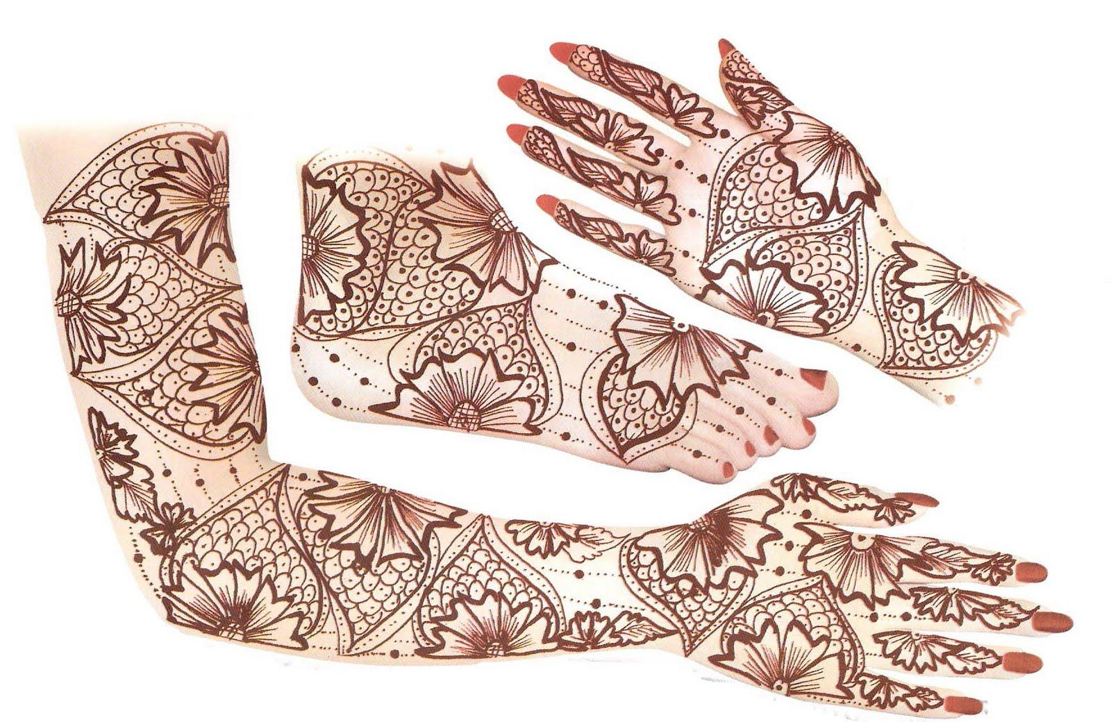 Pakistani mehndi designs henna