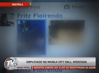 Fritz Floirendo Sex Scandal: Manila City Hall Employee Arrested For Posting On Facebook His and GF's Intimate Photos