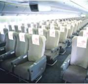 JAL x Tokyo Sky Tree Jet headrests