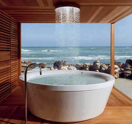 Outdoor Shower Spa