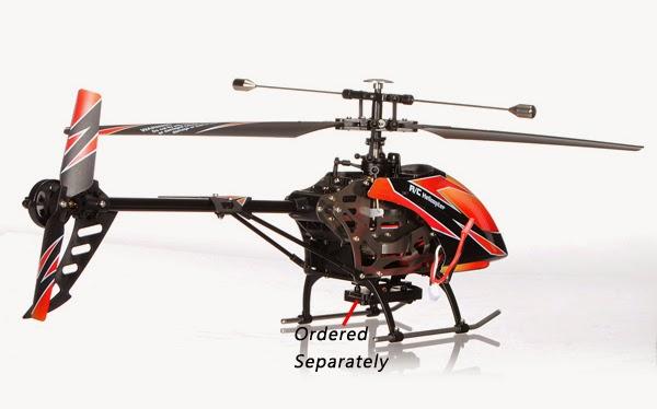 Beli Helikopter WL V912 Single Blade 4CH Di Banggood.com