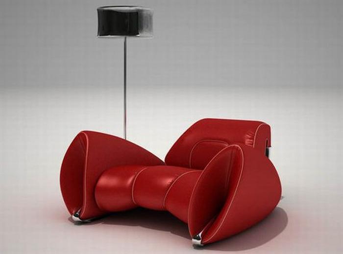 The shopping online deco divan design cuir rouge for Divan cuir