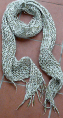 FREE KNITTING PATTERN FOR SPIRAL SCARF   KNITTING PATTERN