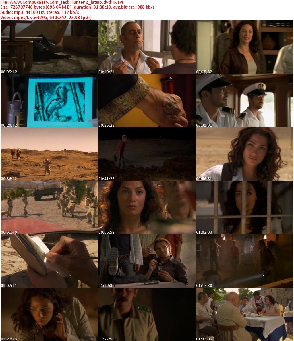 Jack Hunter y la Busqueda de la Tumba de Akhenaton DVDRip