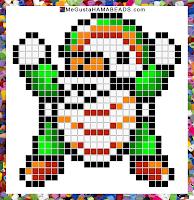 hama beads mario