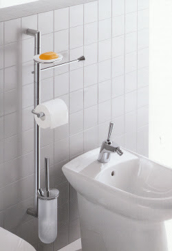 bathroom accessories column