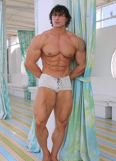 Taylor Sheridan Muscles
