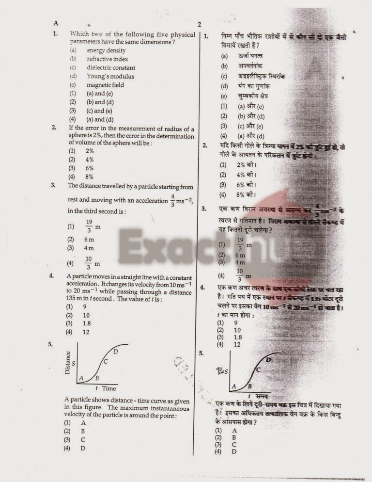 AIPMT 2008 Question Paper Page 02