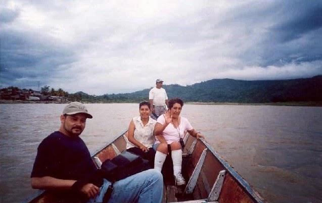 Río de la Amazonía peruana