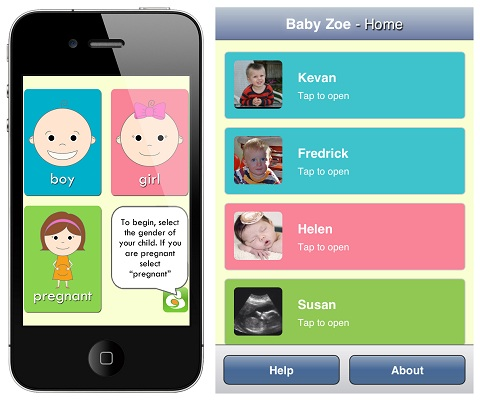 Baby Zoe app