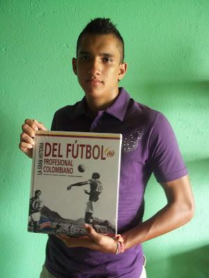 """Ganador del libro """"La Gran Historia del Futbol Colombiano"""""""