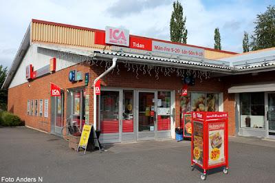 tidan, samhälle, by, ort, ica, butik, affär, ica nära, västergötland