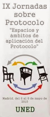 IX Jornadas Protocolo UNED 2015
