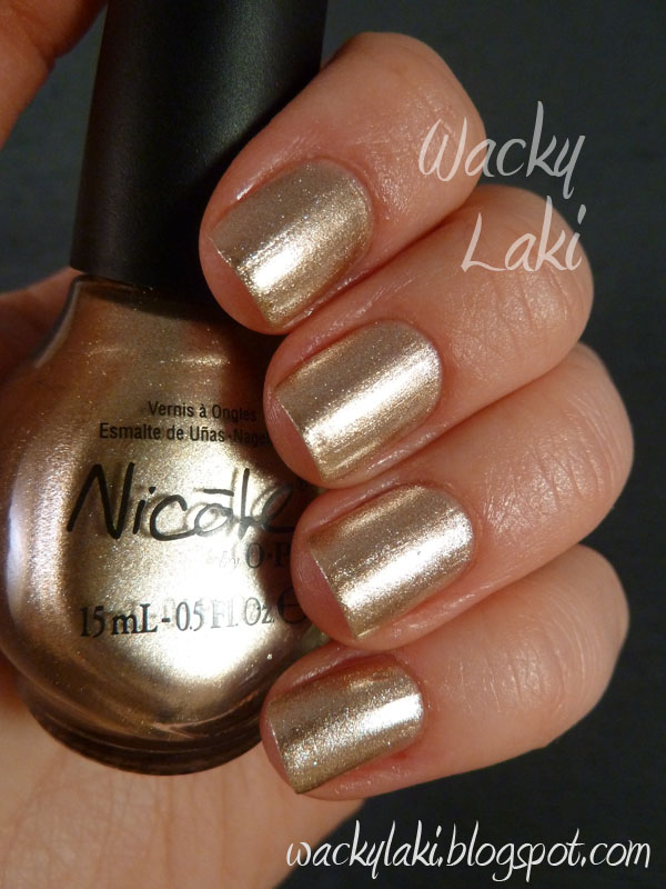 Wacky Laki: Day 8 - Metallic - Nicole by OPI The Next CEO