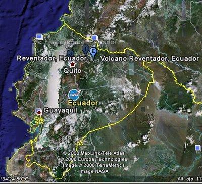 Volcán Reventador, Ecuador