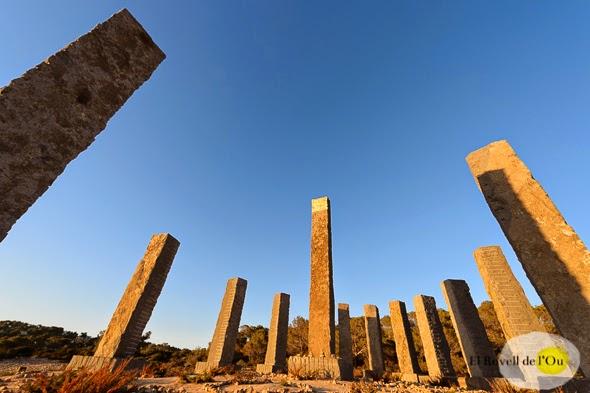 Escultura Andrew Rogers en Ibiza