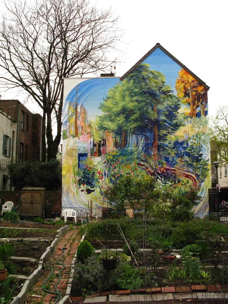 It 39 s always sunny on valencia street blog spotlight for Mural garden