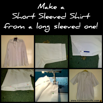 short sleeved shirt tutorial muslim blog