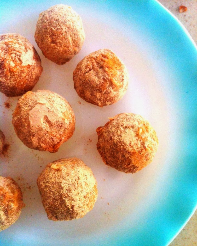 Snicker Doodles Cake Balls Recipe