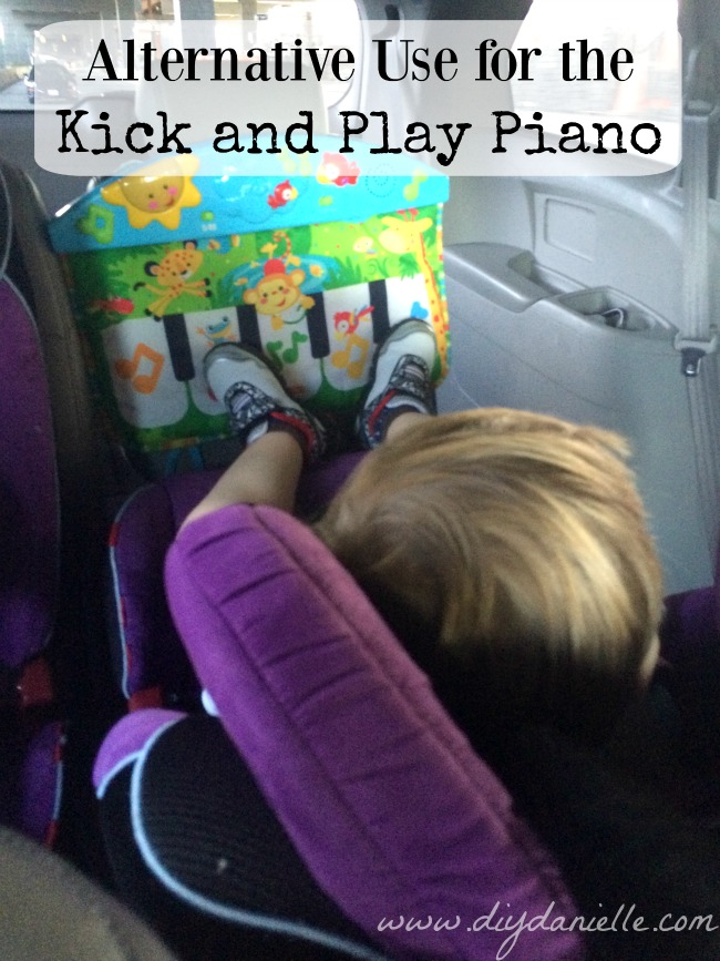 Kick & Play Piano Upcycle