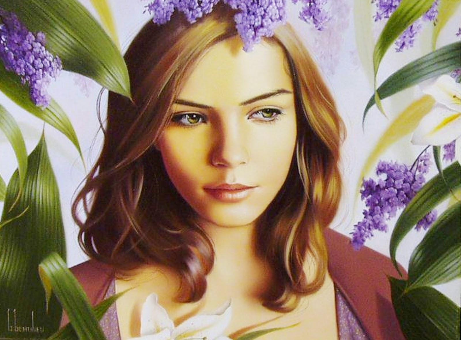 rostros-femeninos-pintados-en-oleo