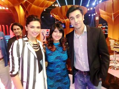 Ranbir Kapoor and Deepika Padukone promote YJHD