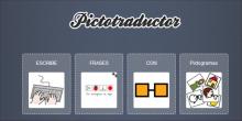 ESCRIBE FRASES CON PICTOGRAMAS