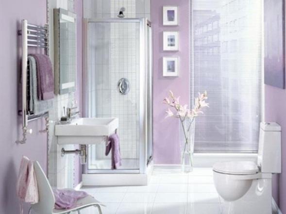 Set De Baño Romantic:Baños Femeninos y Románticos