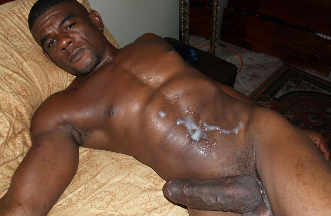 black gay men anal