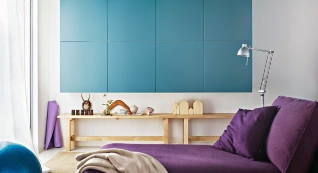 purple bedroom ideas blue walls and purple bed purple bedroom