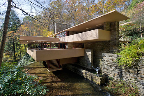 Fallingwater Mill Run Pennsylvania Usa 1935 1939