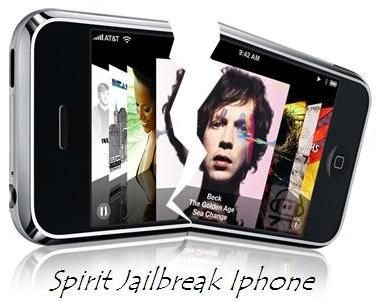 Spirit iPhone 3G S 3.1.3 Jailbreak Software
