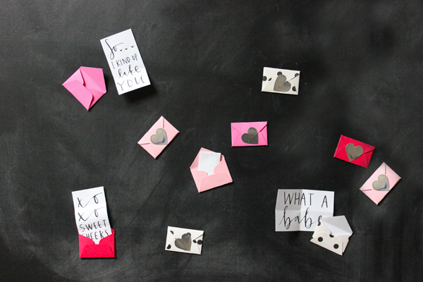 printable mini love notes - a fabulous fete