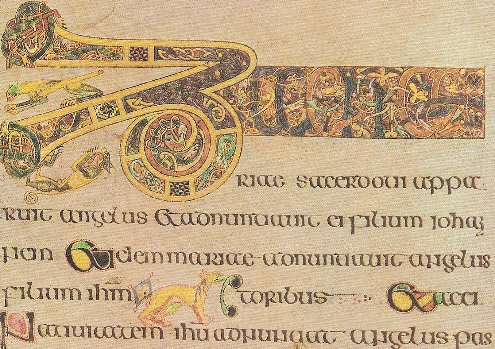 From Swerve Of Shore To Bend Of Bay The Book Of Kells