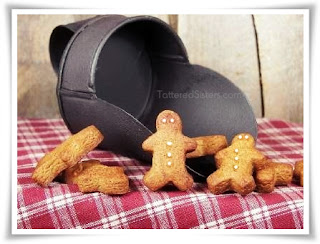 Primitive Mini Gingerbread Dough Ornies