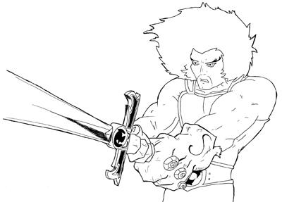 Thundercat 2012 on Dibujos De Los Thundercats Para Colorear