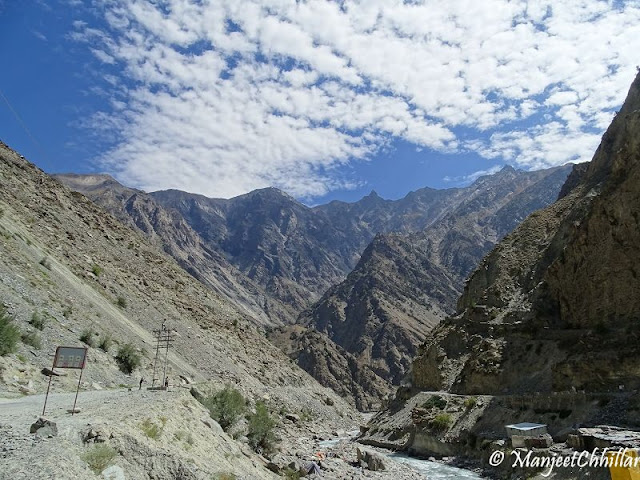 Himachal Mountains NH 22