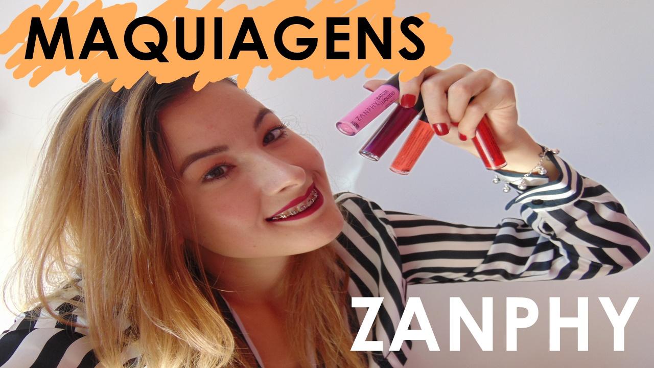 Zanphy Cosméticos - Maquiagem