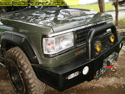 chevrolet trooper 1986 modifikasi off road