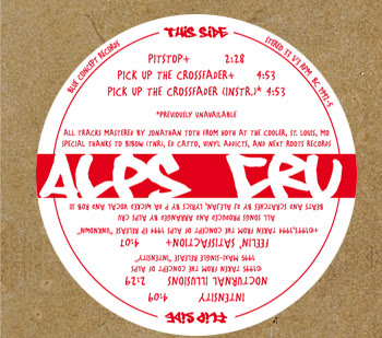 Alps Cru – The Unknown Intensity EP (Vinyl) (2009) (VBR)