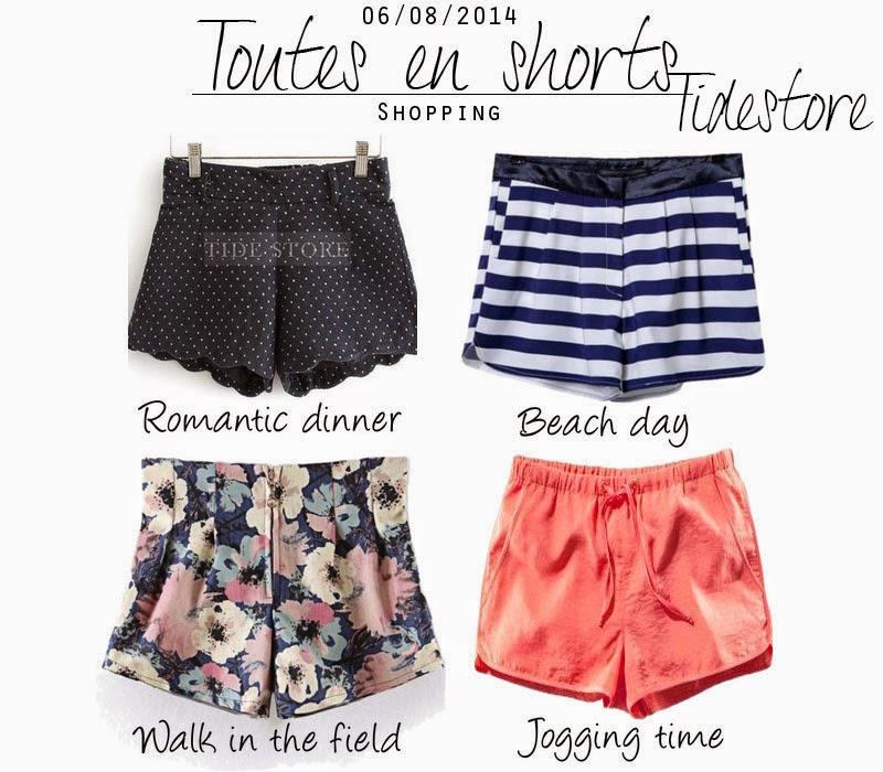 selection shopping shorts pour l'été tendance été 2014 maroc marwa maroc blog mode maroc
