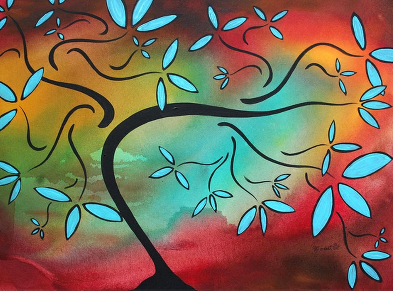 Cuadros modernos pinturas y dibujos cuadros abstractos decoraci n - Imagenes para cuadros ...