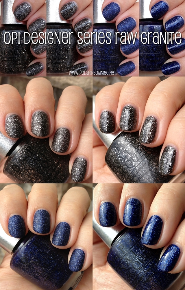 OPI DS Lapis and DS Pewter