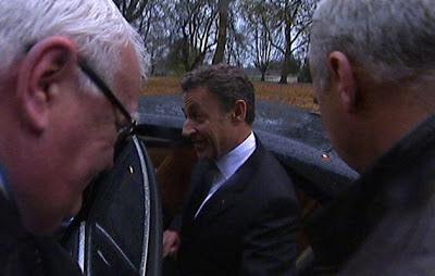Sarkozy chez le juge à Bordeaux