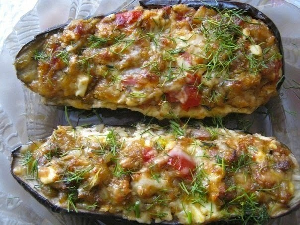 Eggplant stuffed in catalan recipe food network recipes eggplant stuffed in catalan recipe forumfinder Image collections