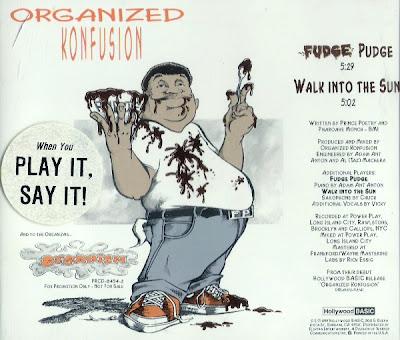 Organized Konfusion – Fudge Pudge / Walk Into The Sun (VLS) (1991) (320 kbps)