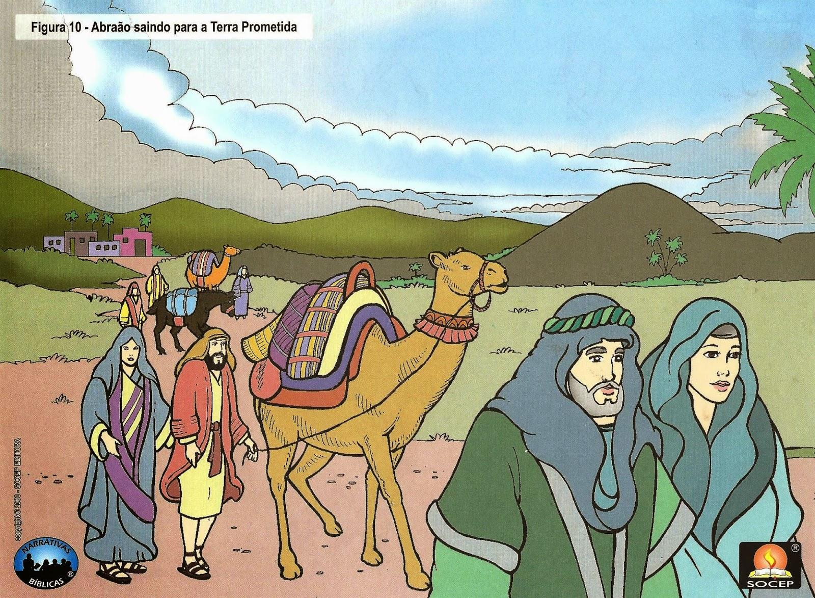 Abraão saindo para a terra prometida